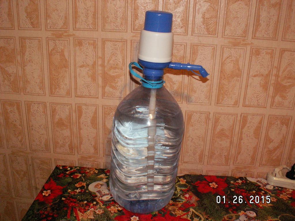 Делаем талую воду в домашних условиях