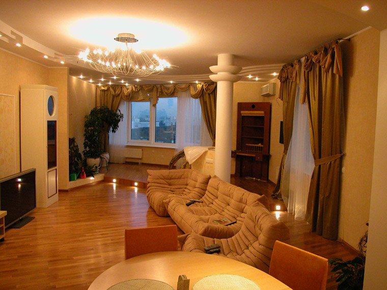 Оригинальный простой ремонт квартиры фото картинки.