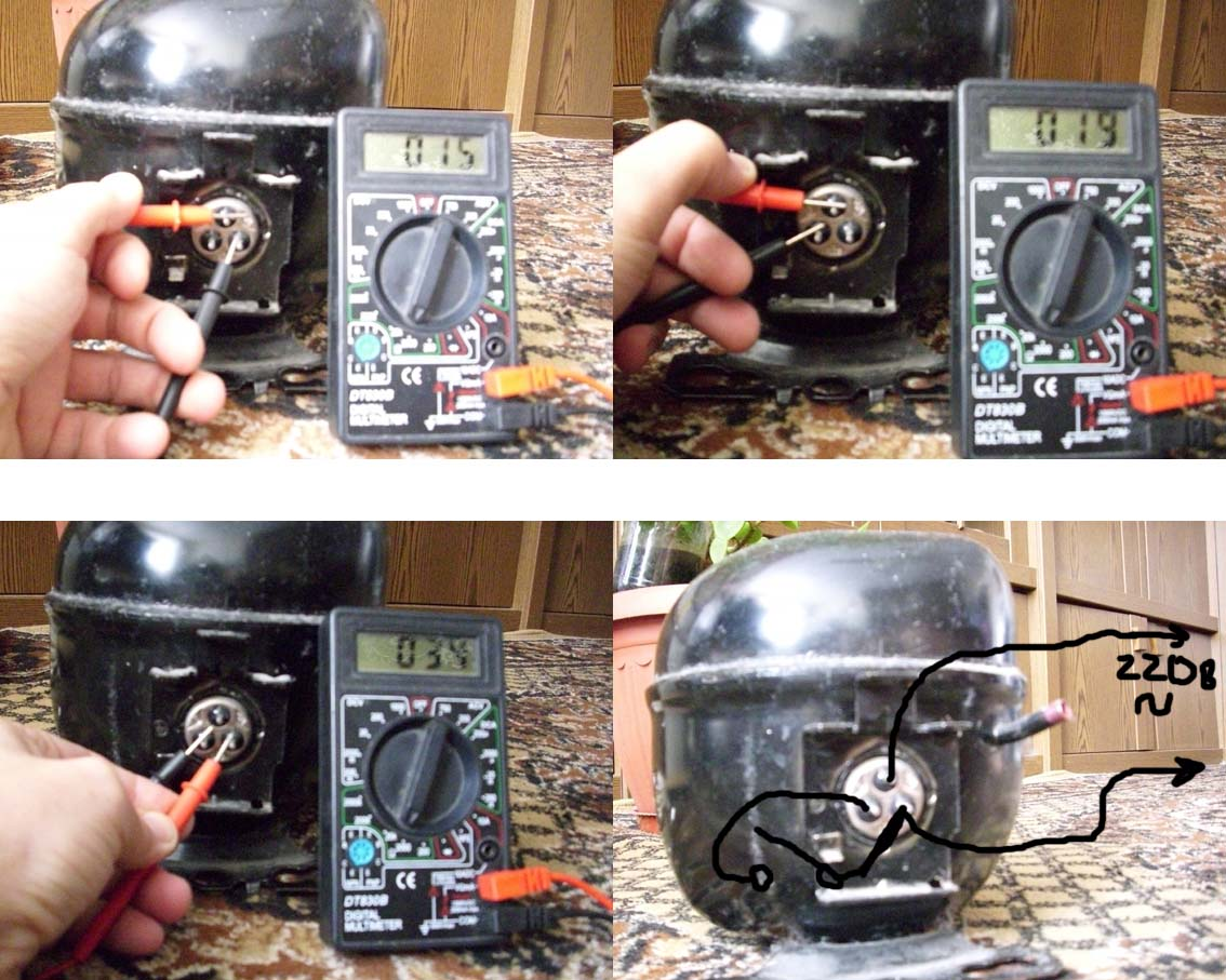 Проверка компрессора холодильника своими руками