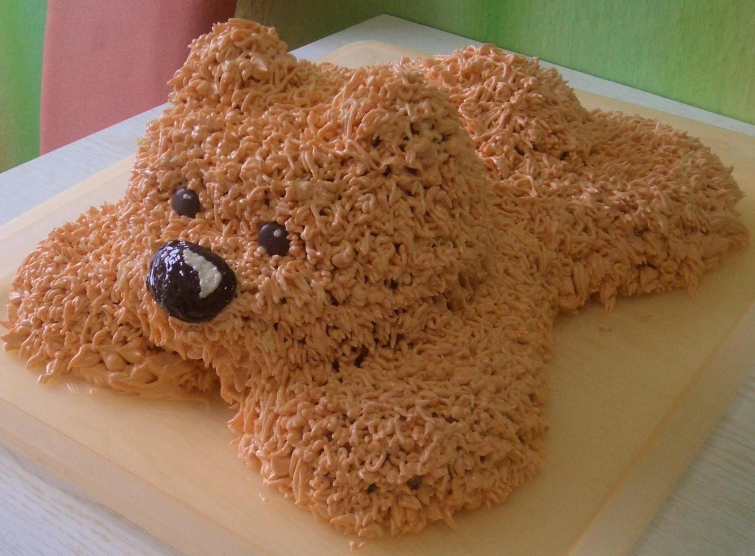 Торт медведь пошаговое фото