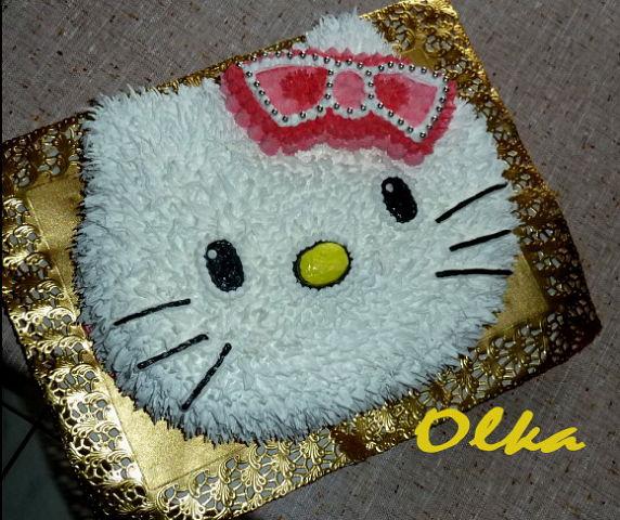 Фото торты детские из крема для девочки