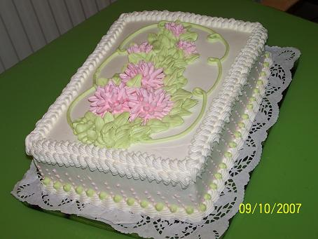 Как украсит торт белковым кремом в домашних