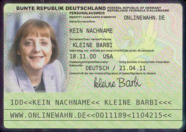 Документы на визу для поиска работы в Германии